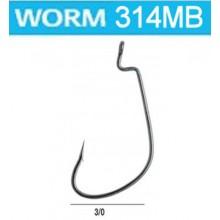 BASS FISHING WORM 314 MB 3/0