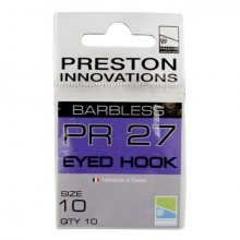 PR 27 BARBLESS EYED HOOK