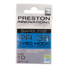 PR 38 BARBLESS EYED HOOK