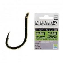 PR 39 BARBED EYED HOOK FOR HAIR RIGGING