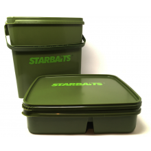 BIDONE CONTENITORE CARPFISHING STARBAITS SB SQUARE BUCKET SET