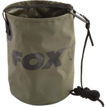 FOX BIDONCINO ACQUA COLLAPSIBLE WATER BUCKET inc. corda/clip