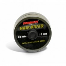 FILO PER TERMINALI CARPFISHING STARBAITS HAIR BRAID 15LB 20mt