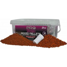 STARBAITS PEACH & MANGO PELLET MIX 2KG