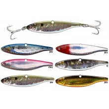 ARTIFICIALI MARE VERTICAL JIGGING TREBLE HOOCK VIBRATO 150GR