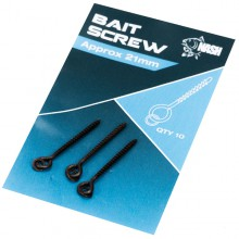 NASH METAL BAIT SCREW WITH RING 21mm
