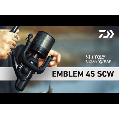MULINELLO CARPFISHING DAIWA EMBLEM 45SCW QD new for 2019