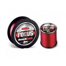 MONOFILO JTM FOCUS RED 0,40mm Spool 1000mt