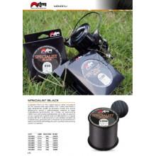 FILO JTM SPECIALIST BLACK O,36mm 1100mt