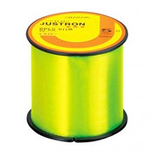 DAIWA FILO JUSTRON DPLS 0,405mm 500mt Fluo Yellow (made in japan)