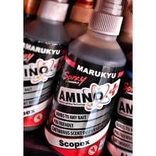 MARUKYU LIQUID ATTRACTOR AMINO + RED LABEL SCOPEX Spray