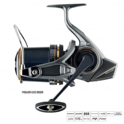 MULINELL0 DAIWA BASIA SURF 45 SCW QD-P (made in japan)