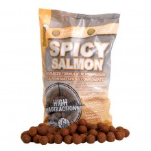 STARBAITS BOILES SPICY SALMON 14mm 2,5kg